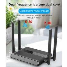 Zbt – routeur/répéteur wi-fi sans fil AC1200, gigabit, double bande, 1000 mbps, extension des Ports usb 2.0, 1 x WAN, 4 x LAN, couverture étendue