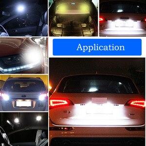 Image 2 - 10 шт. светодиодный свет автомобиля COB W5W T10 Белый Клин свет автомобилей маленькие лампочки светоизлучающие диодные багажная лампа силикон желтый