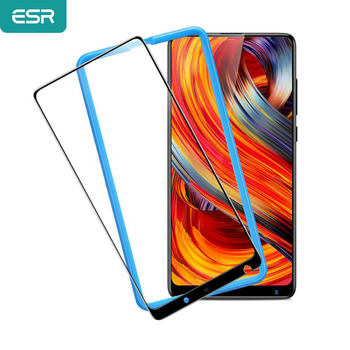 ESR Xiaomi MIX 2 2S Screen Protector for Xiaomi 8 8 SE Tempered Glass 3X Stronger 9H 3D Full Coverage Xiaomi MI 6 Protector Film for xiaomi mix 2 2s screen protector for xiaomi 9 9se tempered glass 3x stronger 3d full coverage for xiaomi mi9 protector film