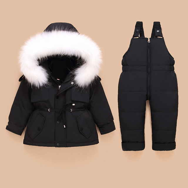 Toddler Down Coat and Pants 3