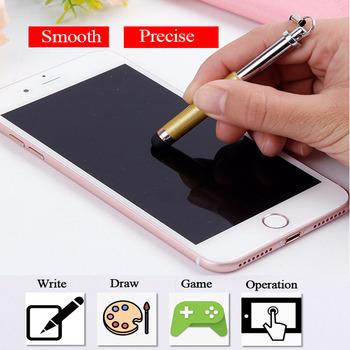 10 sztuk partia uniwersalny elastyczny składany rysik dla iPad Android tablety telefon dotykowy ołówek dla Apple ołówek Samsung Xiaomi tanie i dobre opinie YMZ3WZY CN (pochodzenie) Apple iPhone Metal Stylus Touch Screen Pen