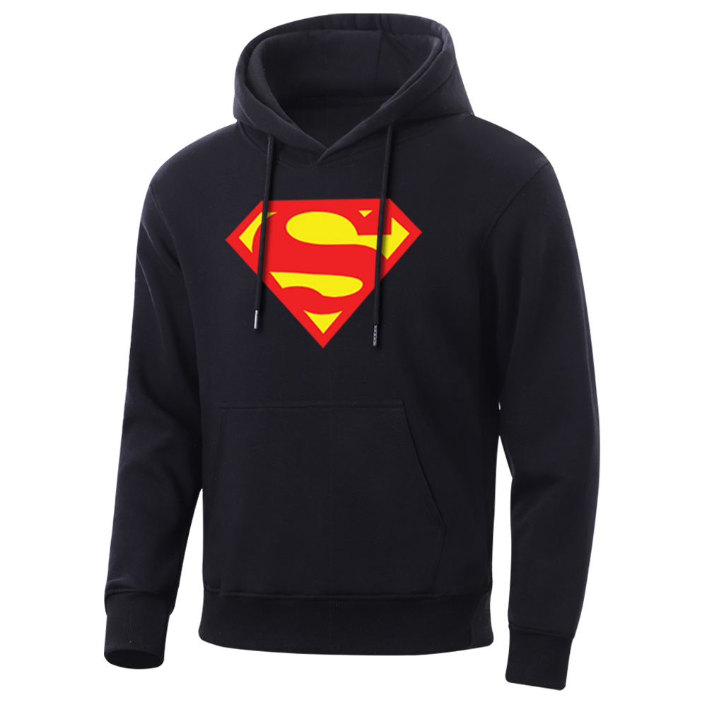 Movie Superman Men Hoodie Clark Kent Mens Sweatshirt 2020 Spring Autumn Fleece To Keep Warm Hoodies Casual Fleece Sweatshirts