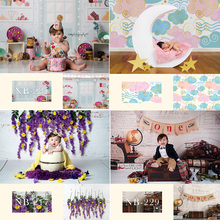 Newborn Baby Portray Photography Backdrop for Photo Studio Children Kids Birthday Background Decoration Portrait Photocall Props free shipping angel digital kids studio photography background backdrop 5x10ft baby children fabric backdrop a 1190