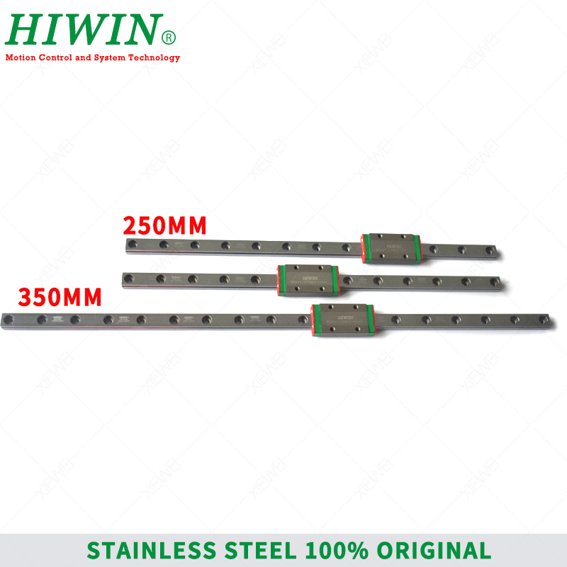 Image 2 - HIWIN  Stainless Steel  MGN9 150mm 250mm  350mm linear guide rail with MGN9H slide blocks Carriages  MGN9 Series  for 3D Printer-in Linear Guides from Home Improvement