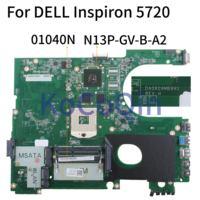 17R KoCoQin Laptop motherboard Para DELL Inspiron 5720 Mainboard N7720 SLJ8C CN 01040N N13P GV B A2 DA0R09MB6H1 para 7720 072P0M Placa-mãe para notebook    -