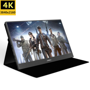 18.4 Inch FHD 3840X2160 4K IPS Portable Gaming Monitor for Game Consoles PS3 PS4 Macbook 13.3