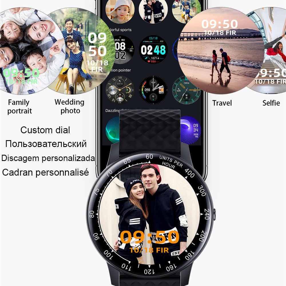 كامل اللمس ساعة ساعة ذكية الرجال ضغط الدم IP68 مقاوم للماء Smartwatch 2020 جهاز تعقب للياقة البدنية الساعات النساء ل IOS أندرويد