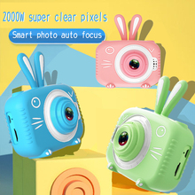 Kids Photo Camera with Cartoon Protective Case Mini Digital Camera for Girls Boys Funny Electronic Toys Children Birthday Gift