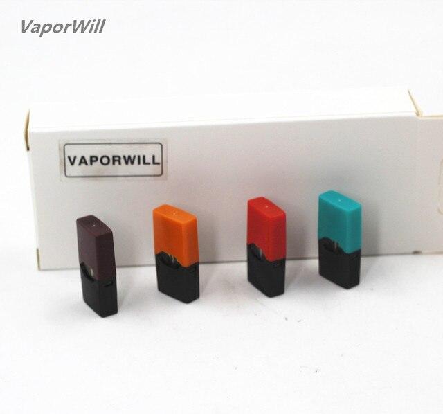 4Pcs Cartridge Replacement Pods 0.7ml Capacity Pod Vape Tank compatible with JUUL Pod System Device Pen Starter Kit 3