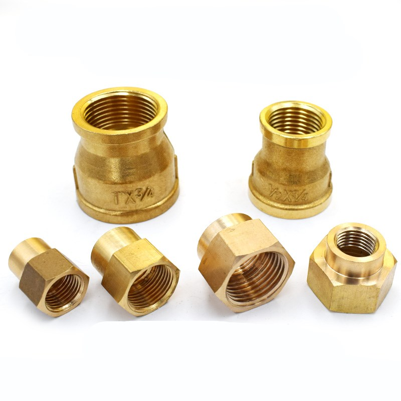 """Messing Pijp 1/8 """"1/4"""" 3/8 """"1/2"""" 3/4 """"1"""" Bsp X Mannelijke draad Quick Adapter Coupler Connector Voor Water Olie Gas"""