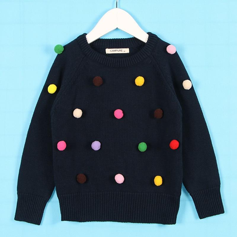 1-6Yrs New 2020 Boy Girl Long Sleeve Loving Heart Knitted Sweater Autumn Winter Boys Girls Sweaters For Baby Girls Kids Sweater 21