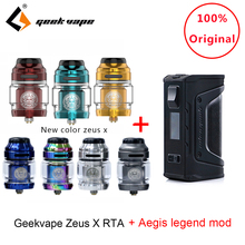 Original Geekvape Zeus X RTA with 810 Delrin drip tip and aegis legend mod Electronic cigarette atomizer vs zeus rta zeus dual