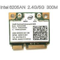 Tarjeta inalámbrica adaptadores para Intel Centrino Advanced-n 6205 62205an 62205hmw 300 Mbps WiFi Mini PCI-E 2,4/5 GHz