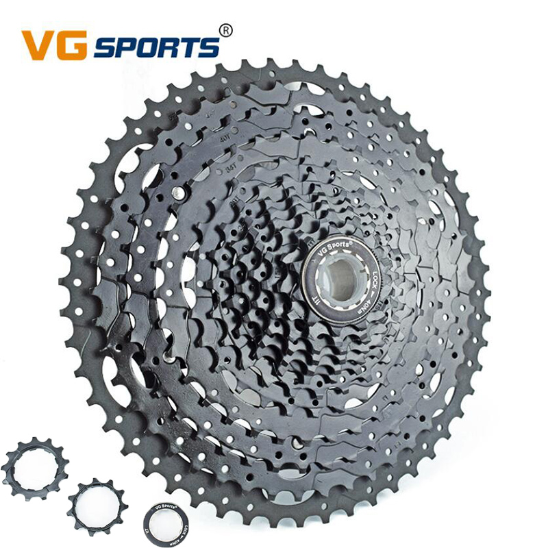 12 Speed Cassette 11-52T Mountain Bike Wide Ratio MTB Bicycle Cdg Freewheel Compatible Mountain Bike Parts Cassette 12 Speed
