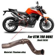 Для ktm 790 duke до 2020 удаляйте кошачьи трубы средней длины