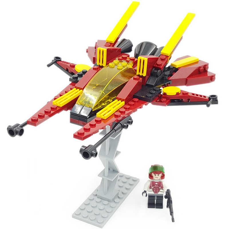 Звездный истребитель блоки моделей кирпичи войны собрать здание детей учительские игрушки рождественские подарки совместимы с legoingly