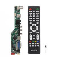 Universal LCD Controller Board Auflösung TV Motherboard VGA/AV/TV/Usb-schnittstelle Fahrer Bord Drop Schiff