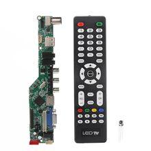 Universal LCD Controller Board Resolution TV Motherboard VGA/AV/TV/USB Interface Driver Board Drop Ship