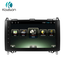 цена Android Touchable Screen car audio Video Stereo Vehicle GPS navigation system for Benz B200 E Class W209 ML W209 Smart head Unit онлайн в 2017 году