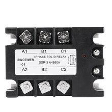 Твердотельные реле DC-AC SSR-3D4810A 25A 40A 60A 80A 100A 3-32VDC до 30-480VAC ток нагрузки трехфазный для контроля температуры