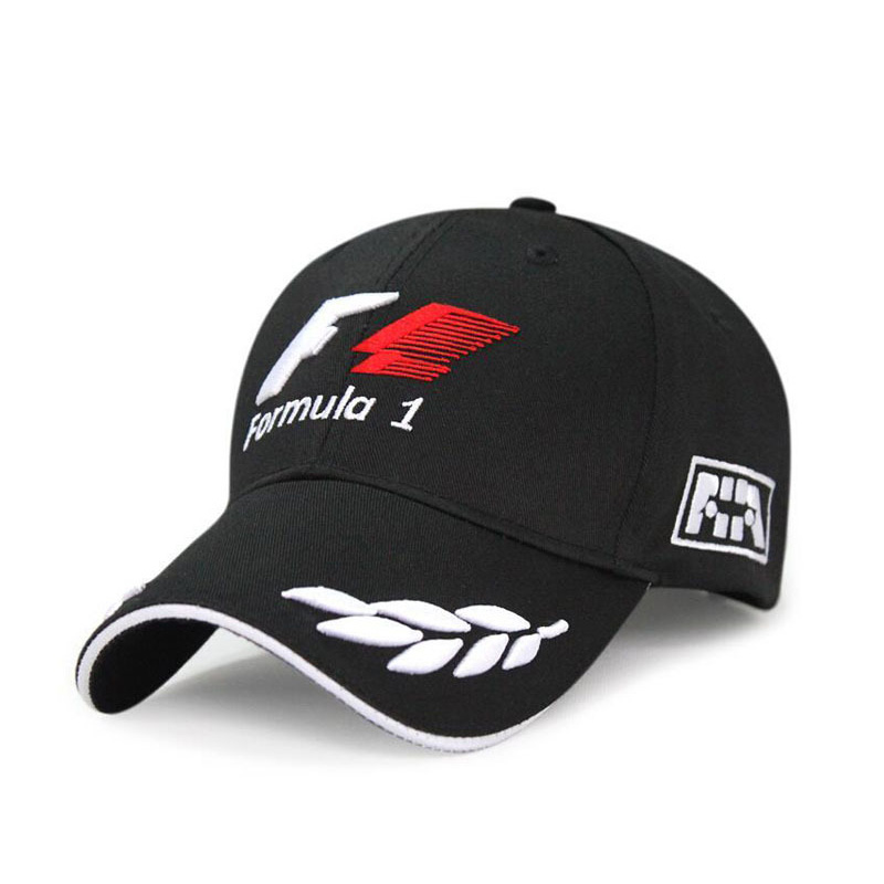 H5140e090e30b402b8a8b8e1ffaf186a7S - Sports F1 Racing Cap Mens Hat For Fish Outdoor Fashion Line Baseball Cap Long Visor Brim Shade Snapback Sun Hat Bone Gorras
