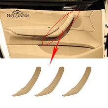 Внутренняя ручка автомобиля кожаная накладка для bmw f25 f26