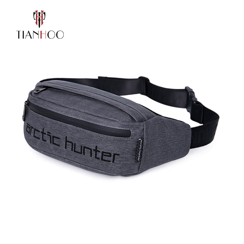 TIANHOO High Quality Men Casual Shoulder Diagonal Bags Waterproof Wearable Portable Travel Waist Bag