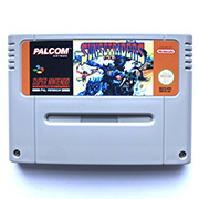 Sunset Riders  game cartidge for pal console
