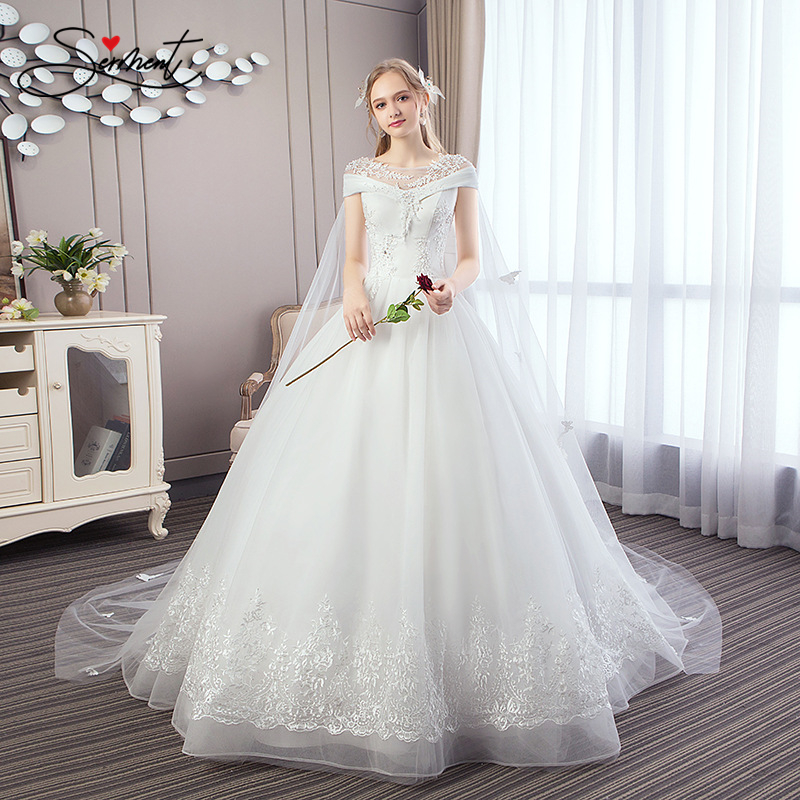 Wedding Dress 2019  Explosions Spot Large Size Sexy Beautiful Noble Luxury Simple Spot Discount  French Wedding Dress