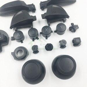 Image 2 - Esquerda direita lr zl zr abxy botões conjunto manivela joystick boné substituição para nintend interruptor pro para ns pro controlador
