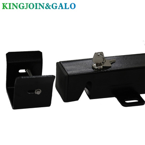 Image 2 - DC24V Electric Gate Latch Lock for Swing Gates Double or Single leaf