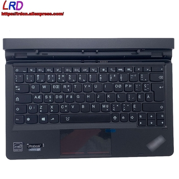 New CFA Canadian French Dock Keyboard for Lenovo Thinkpad Helix 2nd Gen 20CG 20CH Ultrabook 00JT751 4X30G93854 SM10F58151 image