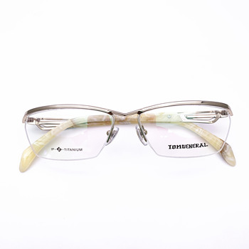 Belight Optical Japan Design Sports Business Titanium Half Rimless Frame Men Big  Prescription Eyeglasses Eyewear TI8031