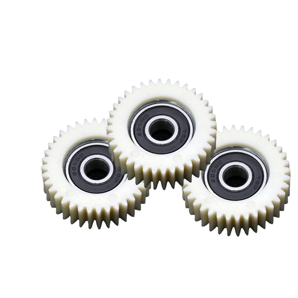 3pcs Components Electric Bicycle Mini Durable Bore Hole Bearing Clutch 36 Teeth Motor Wheel Hub Internal Planetary Gears Nylon