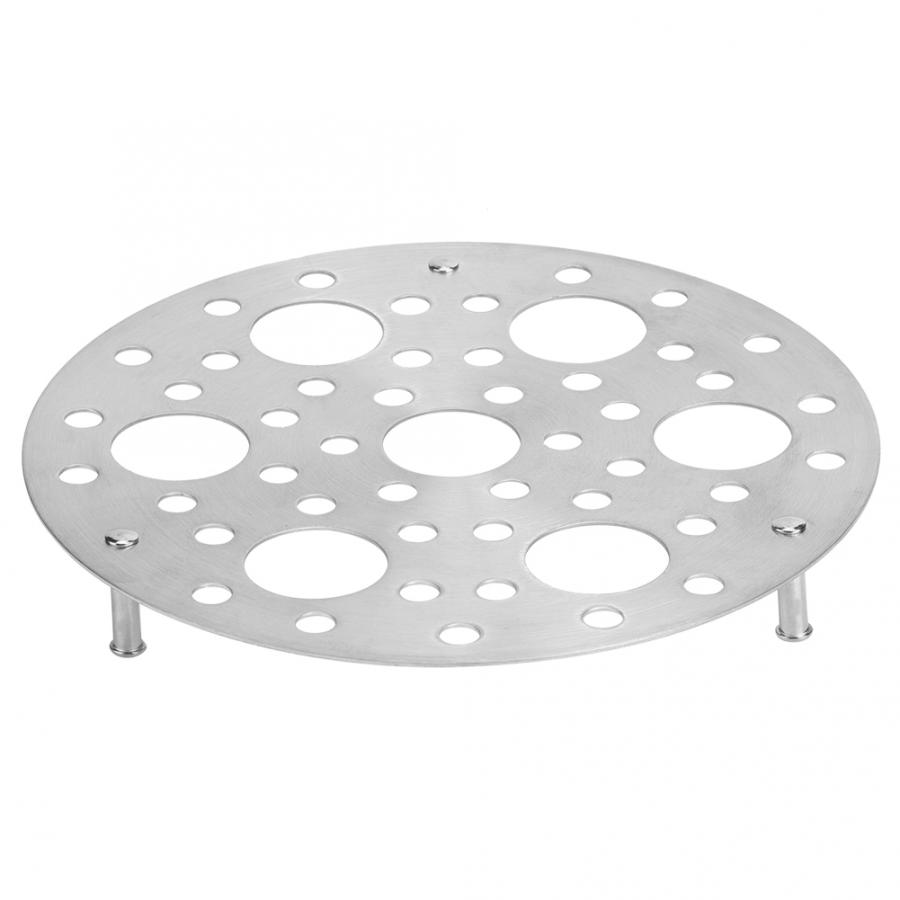 New Pot Steaming Tray Stand Cookware Multifunctional Round Stainless Steel Steamer Rack Kitchen Cooking Tools