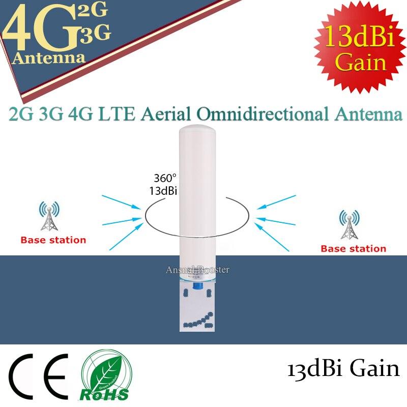 13dBi 698-2700MHZ Antenna 2G 3G 4G External Antennna Outdoor Antenna Mobile Signal Booster Repeater 2G 3G 4G Router Modem