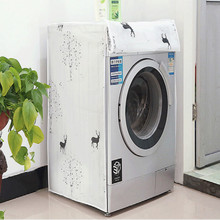 PEVA waterproof washing machine covers front load wasmachine hoes dust cover free shipping