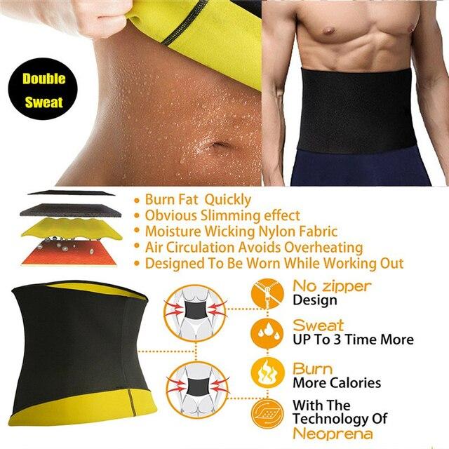 QQT Slimming Waist Trainer Women Tracksuit Fat Burning Hot SPA Sportes Workout Thermal Sweat Sauna Neoprene Body Belt Girdles 5