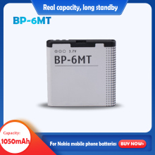 BP-6MT 3.7V 1050mAh Rechargeable Lithium Battery For Nokia 6720c E51 N81 N82 N81-8G E51 E51i 6720 6720C Mobile phone Battery