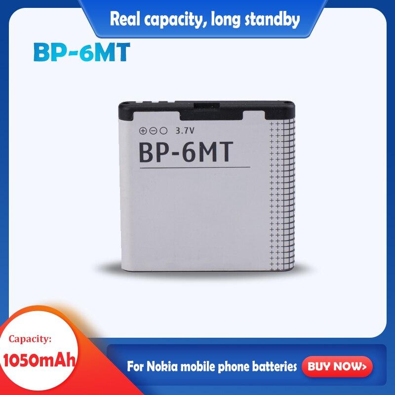 BP-6MT 3.7v 1050mah充電式リチウム電池ノキア 6720c E51 N81 N82 N81-8G E51 E51i 6720 6720C携帯電話のバッテリー