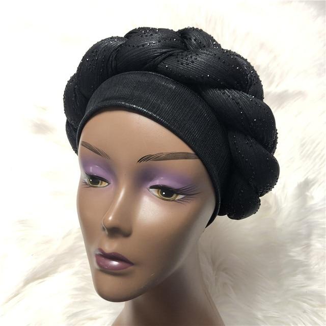 Braided Head Band Turban (Assorted) 3