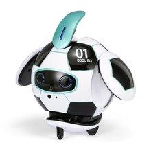 цена на Ball Robot AI Robotic Voice recognition version Robot Dancing Singing Gesture Sensing Recording Robot Toys Children