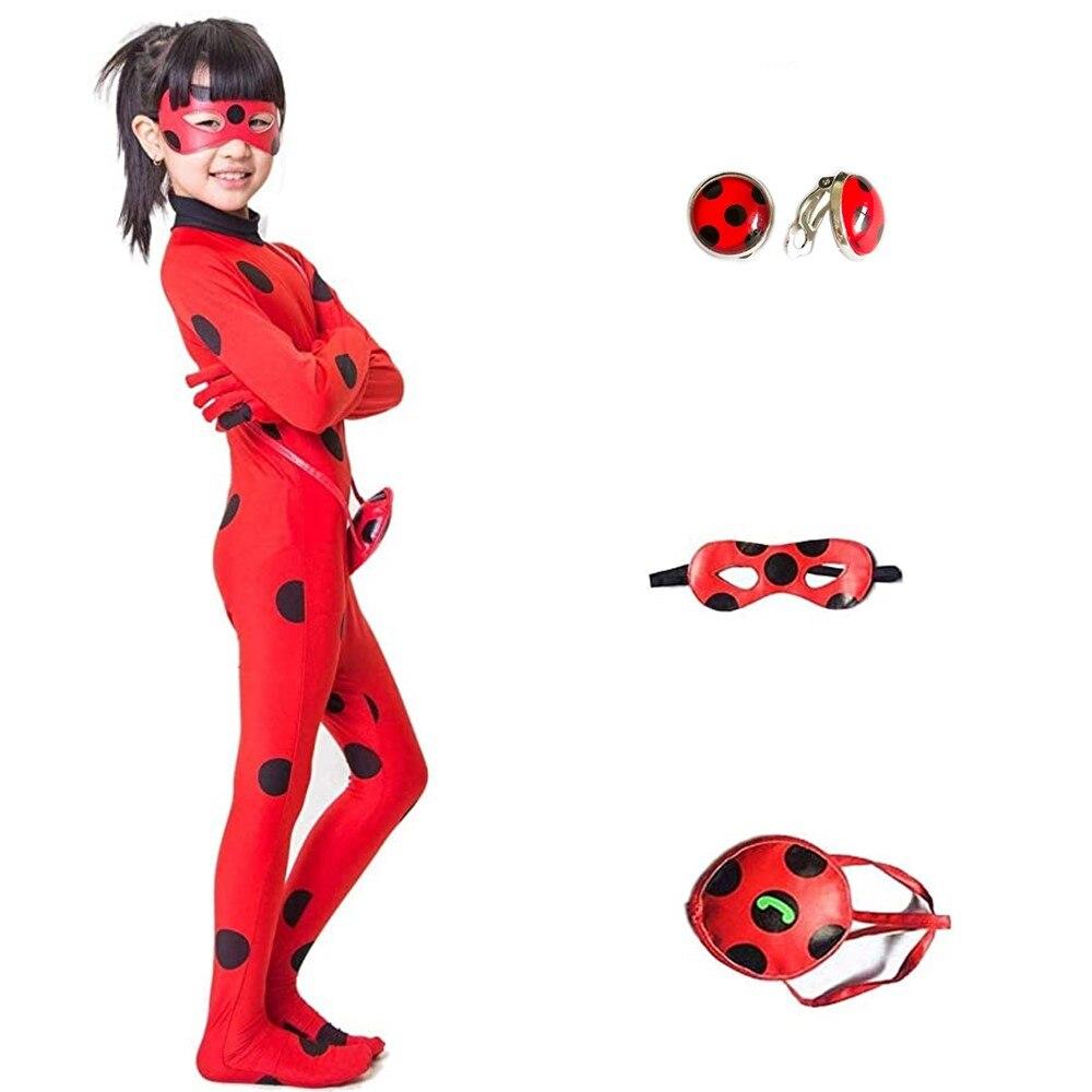 Costume da ragazza tuta Beetle Dress Up Suit per Baby Kids Teen Cosplay festa di compleanno