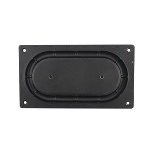 Image 5 - GHXAMP 135*75MM Bass Diaphragm Radiator Low Frequency Rubber 3.5 inch 4 inch Passive bass Vibration film New 2PCS