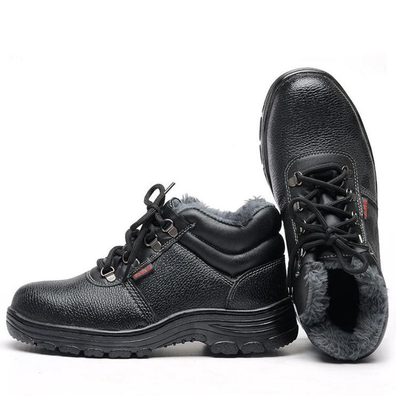 Uomini Stivali da Lavoro Puntale in Acciaio Scarpe da Uomo Scarpe Scarpe di Sicurezza Sul Lavoro di Puntura Prova per Gli Uomini Scarpe da Ginnastica Casual Scarpe Maschili 2019 - 4