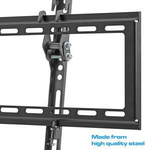 Image 5 - Suporte de montagem de parede para tv, suporte para a maioria 37 70 polegadas, led, lcd, tela plana de baixo perfil, até cabo hdmi vesa 600x400 inclui