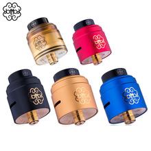 100 oryginalne papierosy elektroniczne RDA dotRDA 24mm V1 5 RDA Dotmod RDA platerowane w 24k złota 510 nici do Dotmod 100w tanie tanio Uchwyt Stojak Metal