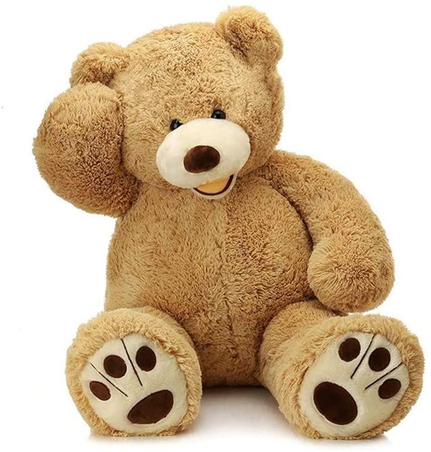 Riesigen Teddybär Plüsch Spielzeug Für Mädchen Gefüllte Puppe Soft Big Hohe Qualität Nicht Gepolsterten Leere Bär haut Valentines Tag Geschenk für Kinder