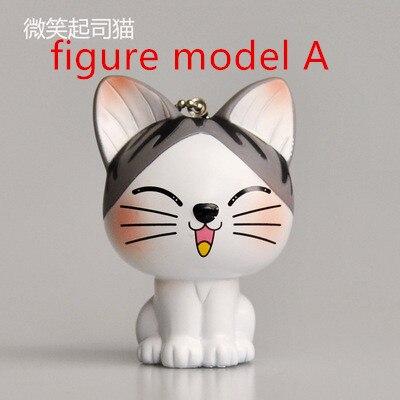 Kawaii серый сидя 9 см кошка плюшевые мягкие игрушки, букет подарок мягкая плюшевая кошка кукла, брелок с котом плюшевая игрушка цветок кошка кукла подарок - Цвет: figure a