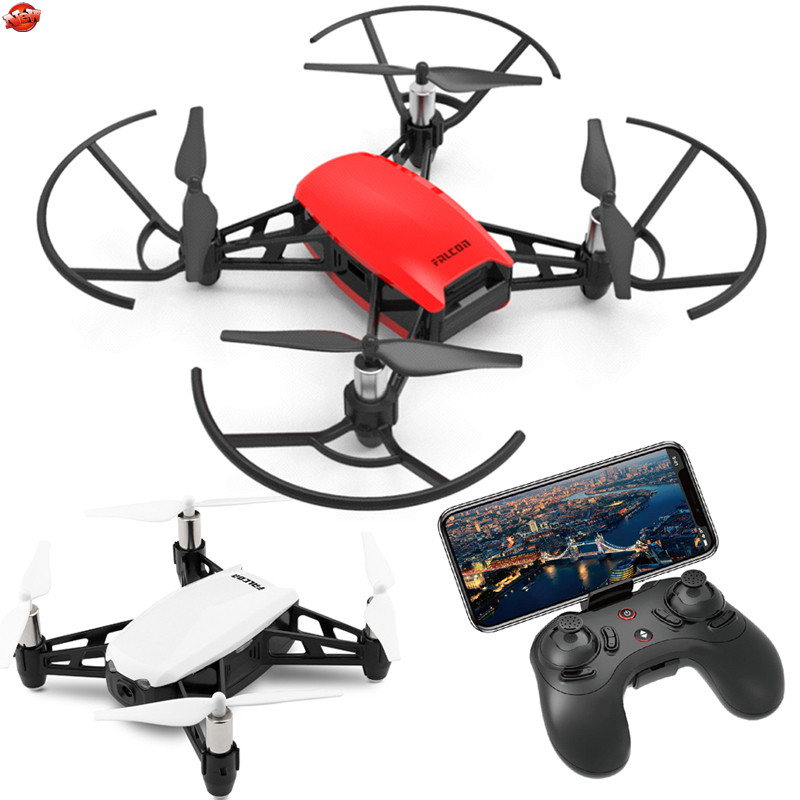 Visual Following Me Four-Axis 720P WIFI Real Time RC Drone Model 2.4G Dual Camera Optical Flow Gesture Photo Smart RC Helicopter